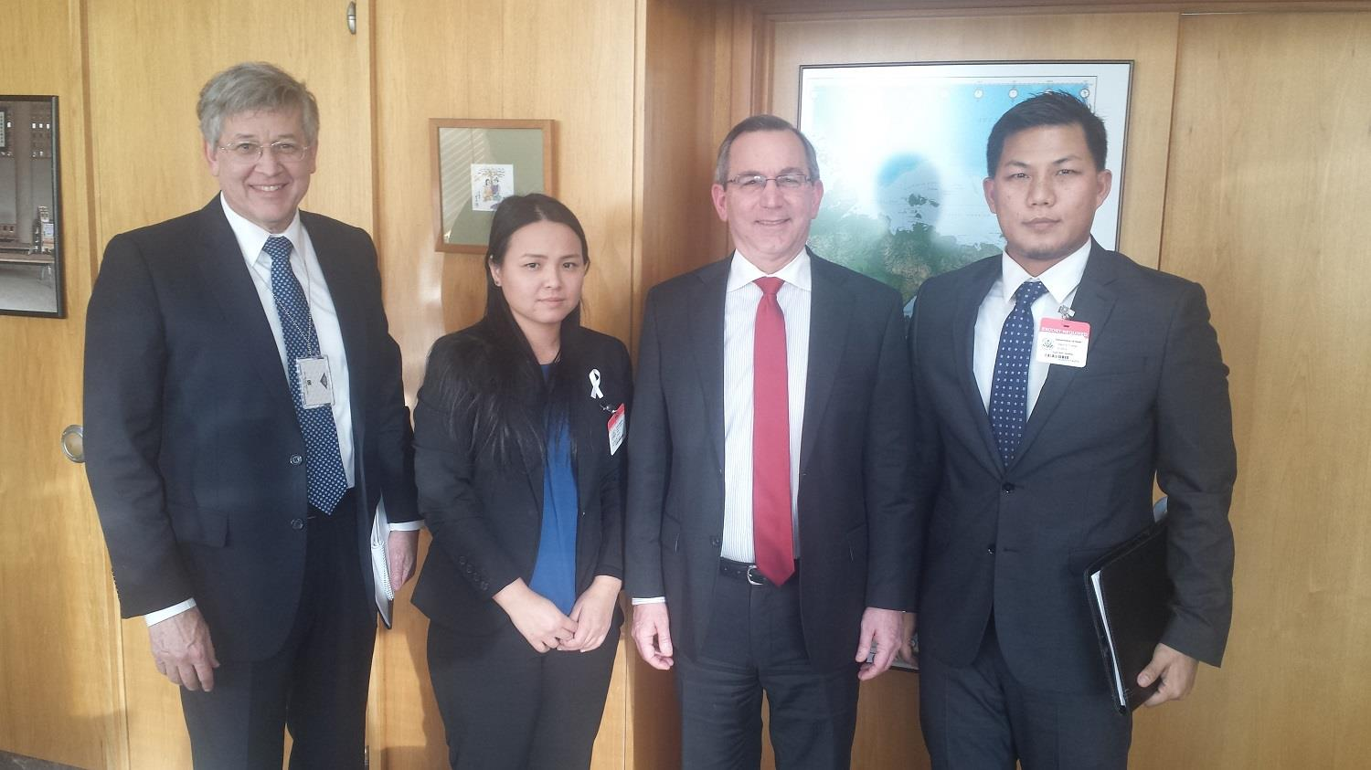 Kachin Alliance Met with Assistant Secretary Scot Marciel