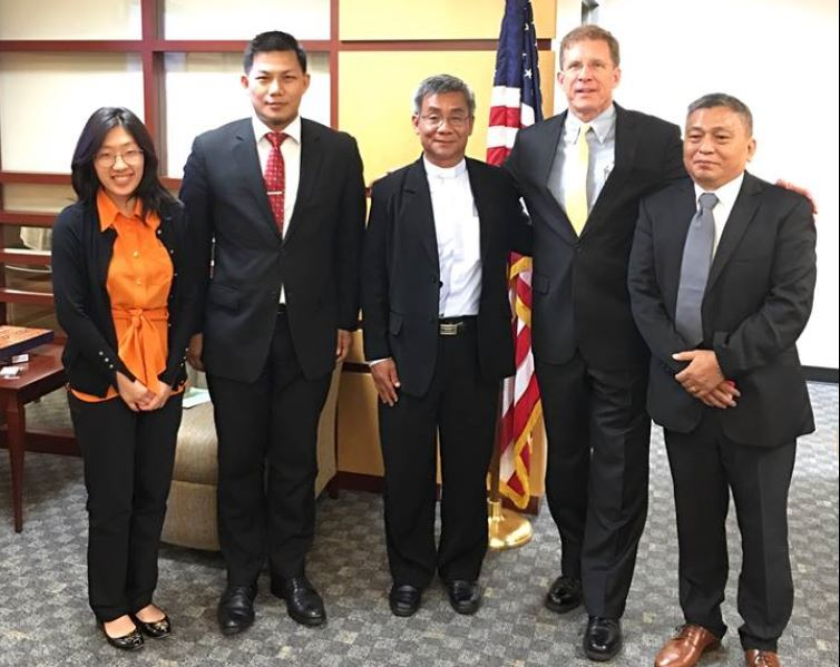 Kachin Leaders Met with Assistant Secretary Patrick Murphy