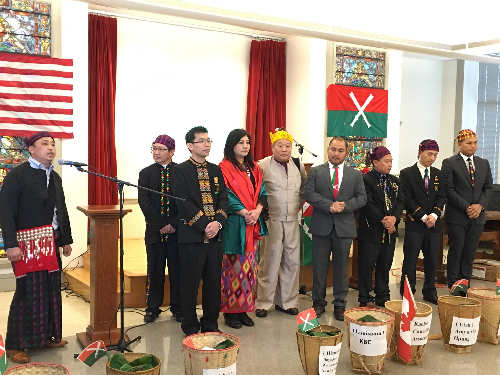 Kachin Alliance's Office Opening Ceremony