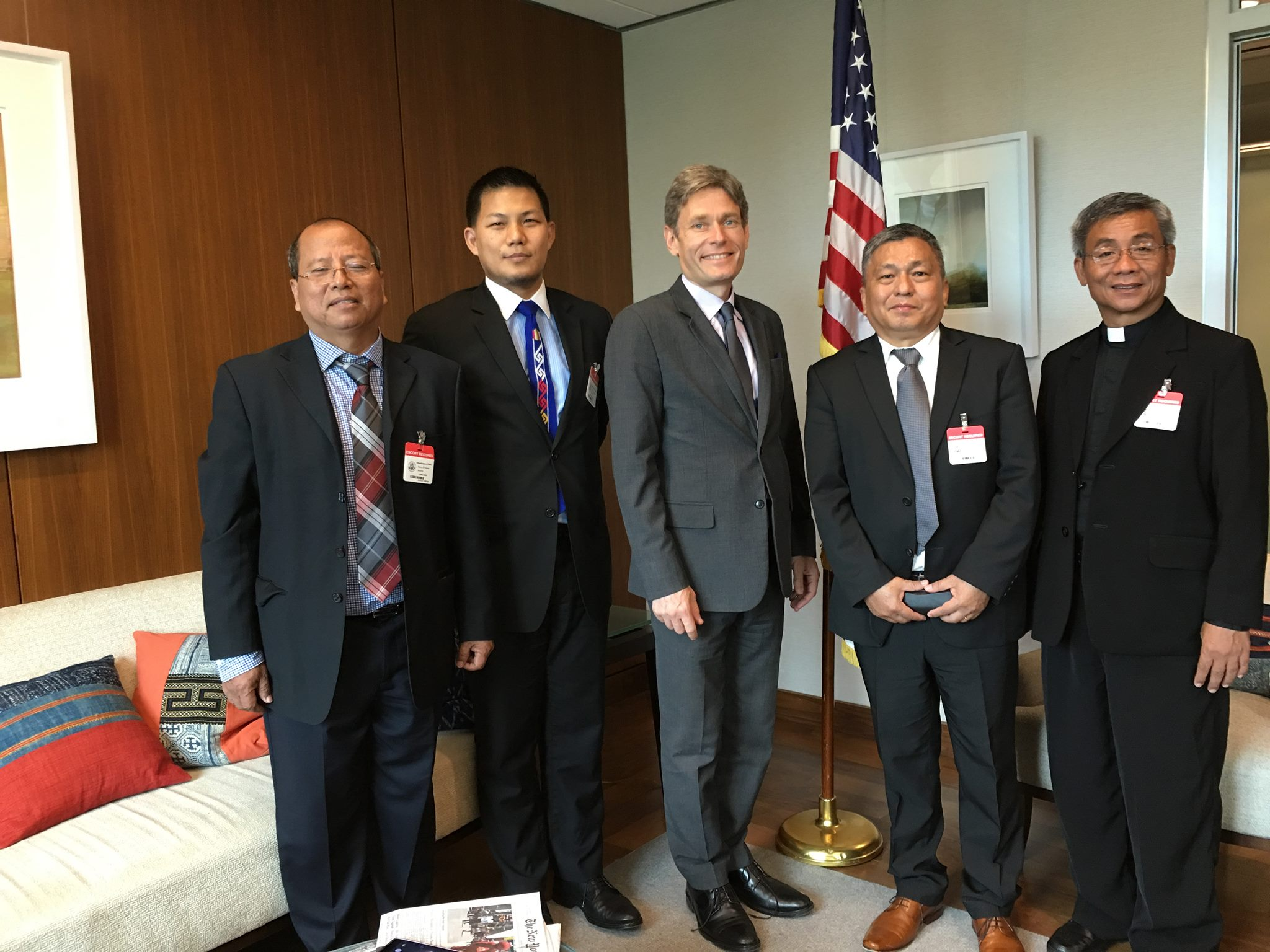Kachin Leaders Met with Assistant Secretary Tom Malinowski